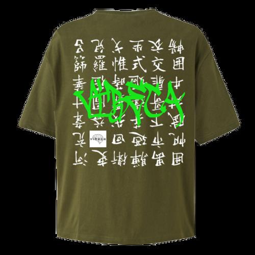vibeca ポケットTシャツ khaki