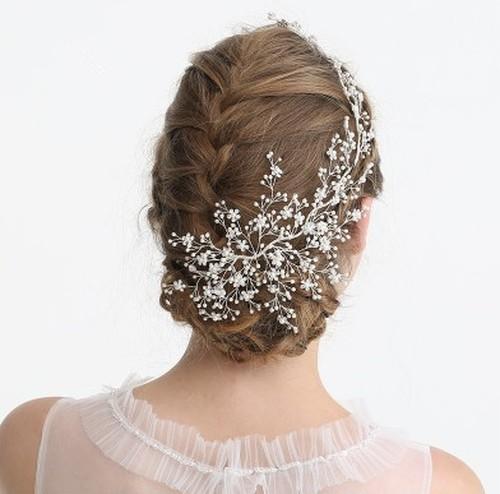 wedding headdress(flower pearl)