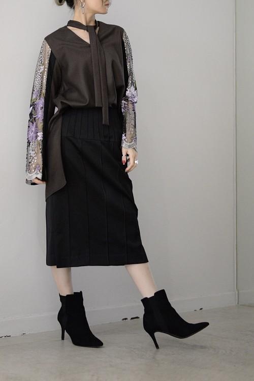SATORU SASAKI / topstitch skirt
