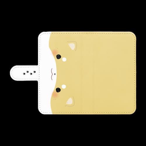【手帳型Androidケース】しばいぬ