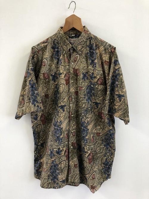 Paisley & Flower Pattern Shirt
