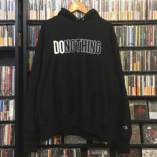 DO NOTHING parka (ブラック)