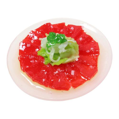 [0546]食品サンプル屋さんのマグネット(マグロのカルパッチョ)