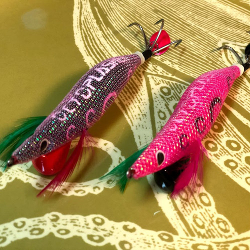 2色セット 蛸餌木(蛸墨族 x OCTOPLASHER)