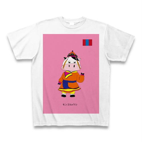 民族衣装Tシャツ モンゴルxウシ