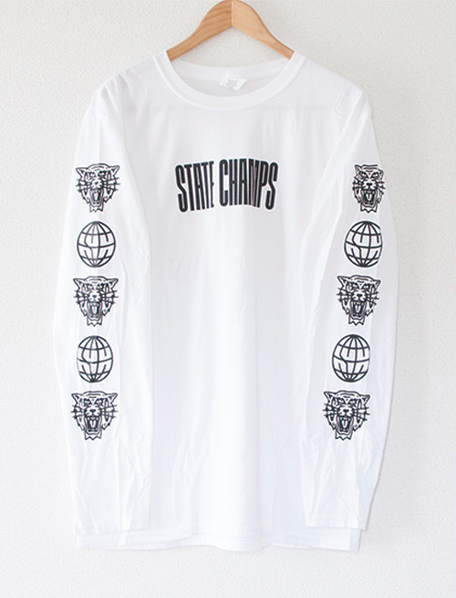 【STATE CHAMPS】Living Proof Long Sleeve (White)