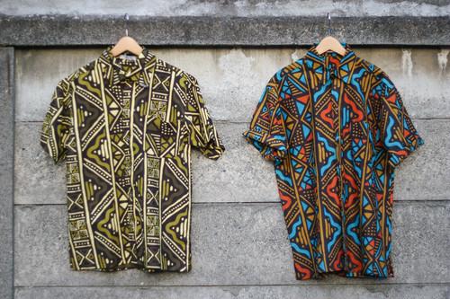 Men's / African pattern shirt