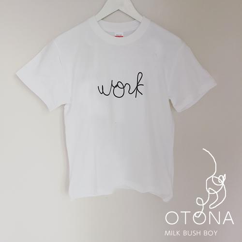 OTONA Tシャツ 【work】