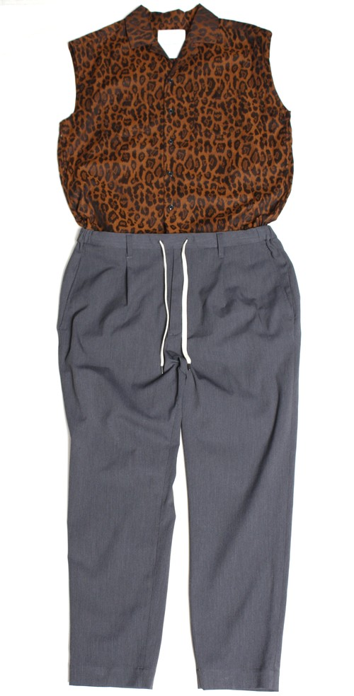 Mixed for layered overall -brown <LSD-BA1B4>