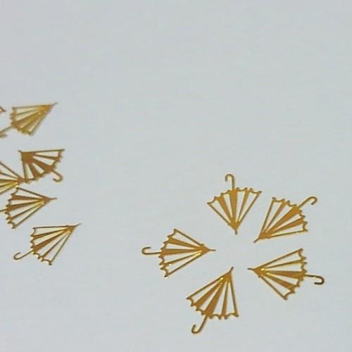 メタルパーツ・アンブレラ(5枚入り) [N01-001]