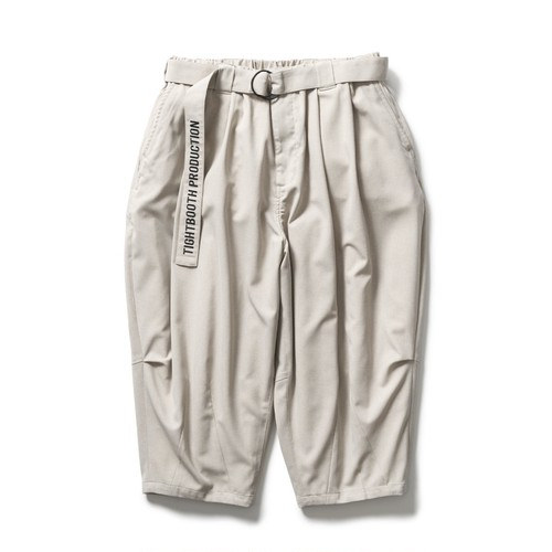 TIGHTBOOTH CANAPA CROPPED PANTS Greige