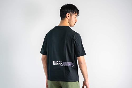 THREEARROWS BIG S/S TEE(black)