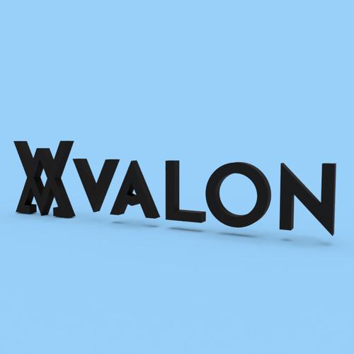 【オリジナル立体看板】VALON(イラストレーター)