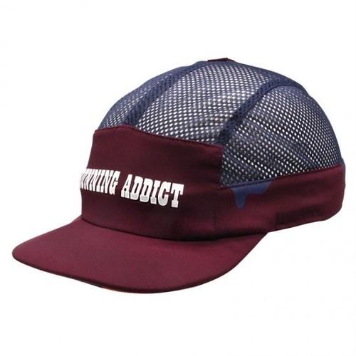 FEEL CAP   RUNNING ADDICT INK CAP (BORDEAUX )