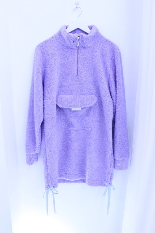 ⭐︎30% OFF⭐︎【Somewhere Nowhere】LILAC FURRY HIGH NECK SWEATER DRESS