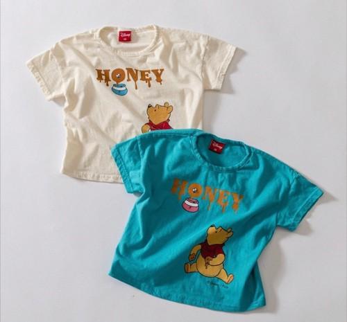 キッズ予約 2600円+税 Winnie the POOH Tシャツ
