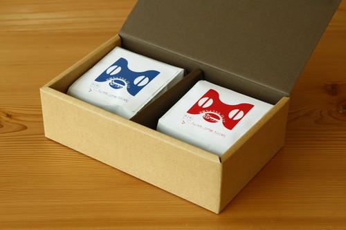 《ギフト》「あっさり」&「しっかり」金魚ちょうちんブレンド (3,000円 税抜)