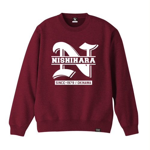 NISHIHARA TOWN CREW NECK SWEAT