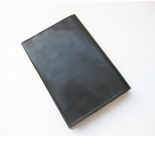 スキニーブックカバー <BLACK>文庫本サイズ