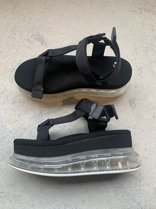 k3&co. SNEAKER SANDAL (Black)