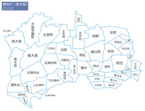 東京都練馬区