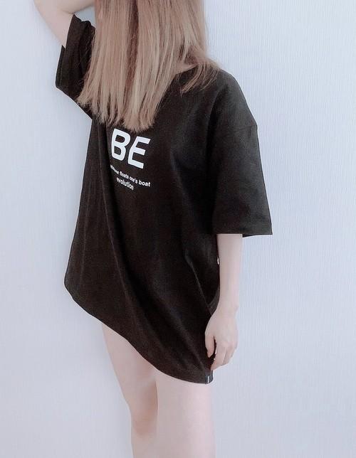 BE Tシャツ ロゴ (BLACK)