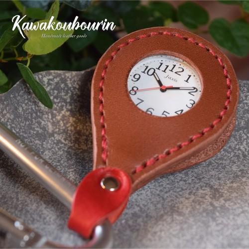 【オーダーメイド制作例】時計のキーホルダー(時計持ち込み)