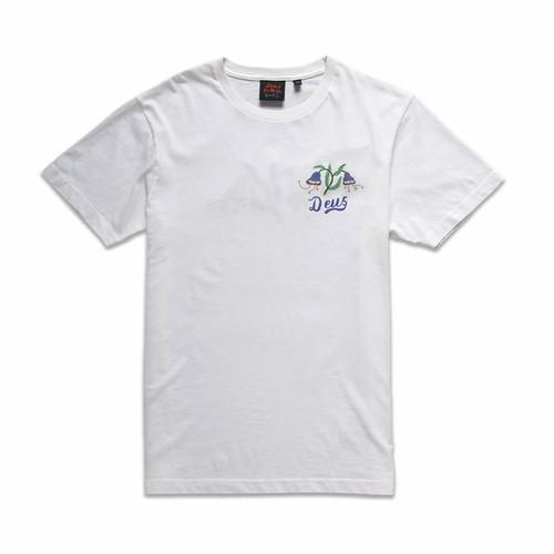 Deus ex Machina(デウスエクスマキナ) BJORN MILAN TEE (Tシャツ) ビンテージホワイト JMP91788B