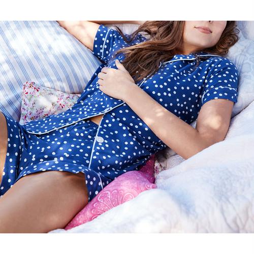 レディースパジャマ 半袖 ストレッチ BedHead Pajamas ベッドヘッドパジャマズ Demi Dot