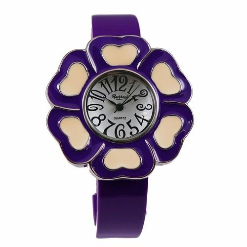 ラポールウォッチ Rapport ラポール お花のバングルウォッチ 腕時計 バングル かわいい