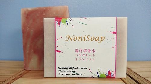 NoniSoap ピンクマーブルノニ石鹸