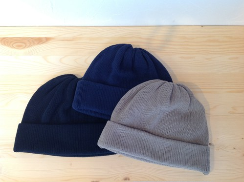 "COMESANDGOES×UNIVERSAL PRODUCTS.""KNIT CAP""L.GRAY"