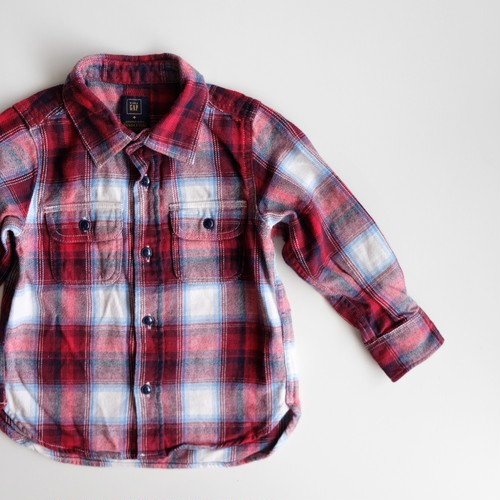 <US USED>Gap x Pendleton Flannel Shirt 3years