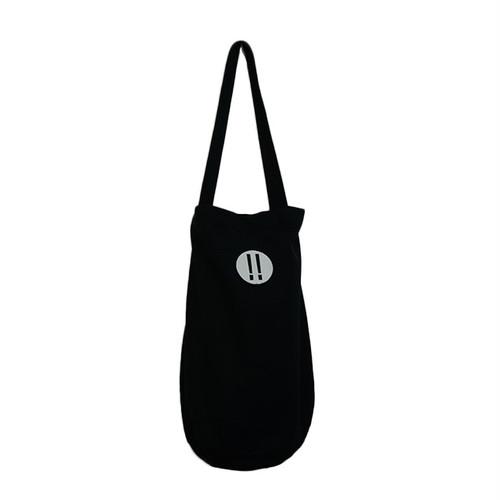【wow OH!!】ワオ!! バケツ型ワンショルダー Shilton BLACK  wow-7 ※こちらの商品は受注生産品となります※