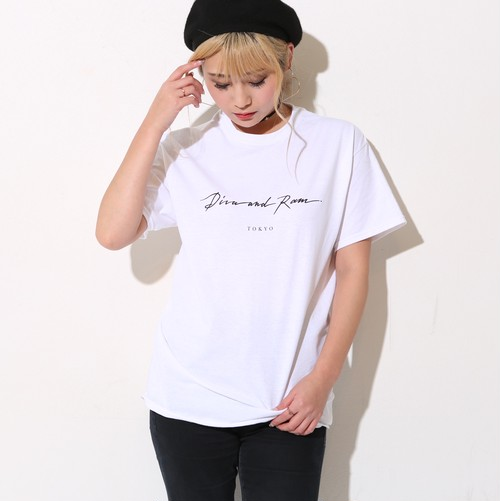 SIMPLE LOGO TEE(WHITE)