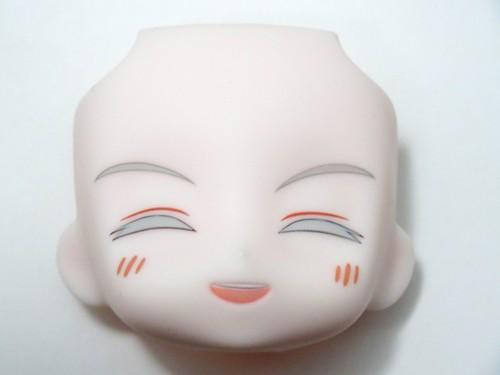 再入荷【540】 鶴丸国永 顔パーツ 笑顔 ねんどろいど
