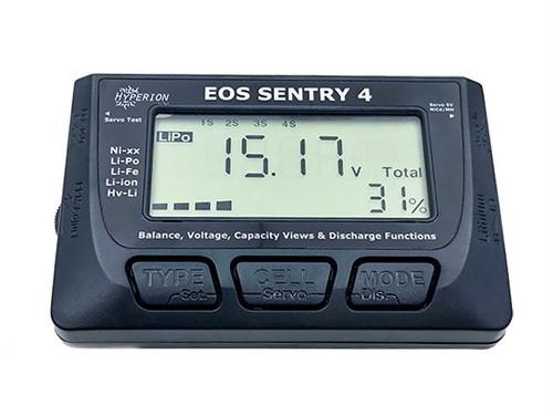 ◆EOS Sentry4 2-8S バッテリー&バランサーチェッカー,放電モード&サーボテスター搭載、日本語説明書有