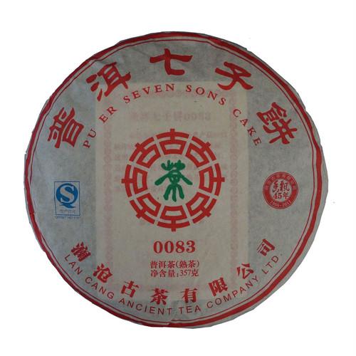0083七子餅<2011年/熟>