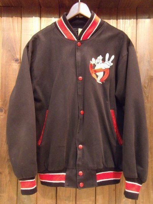 Vintage★80's 【GHOSTBUSTERS】Official Stadium Jumper