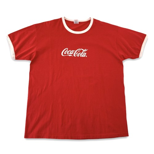 【Coca Cola】 コカ・コーラ リンガーTシャツ ヨーロッパ古着