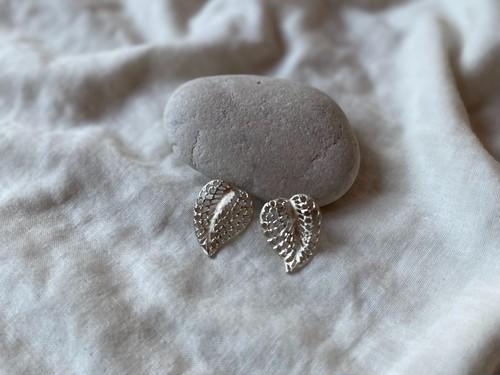 〈vintage silver925〉filigree leaf pierce