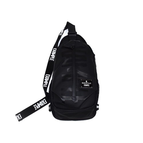 EXAMPLE x MAKAVELIC BODY BAG / BLACK