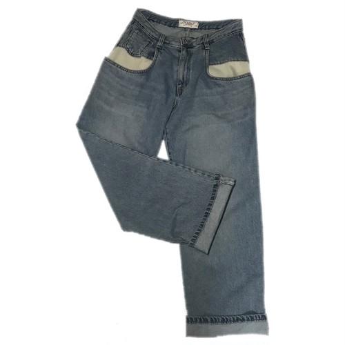 デニム Big Pocket Jeans