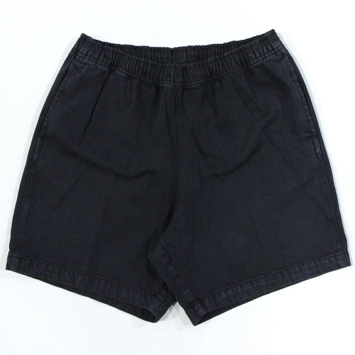 【OBEY】 EASY RELAXED DENIM SHORT (Faded Black)