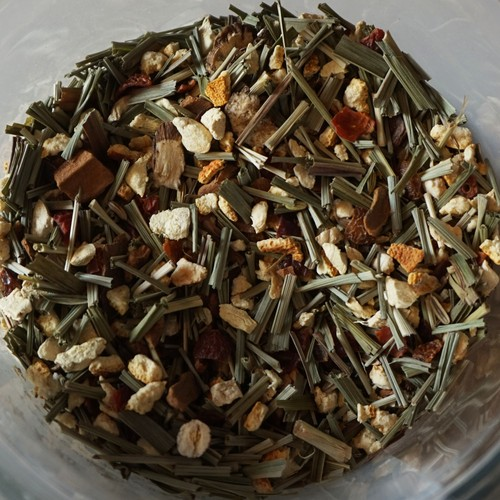 [冷え症] 有機薬草茶 (茶葉量り売り50g以上ご注文専用:10g単位)