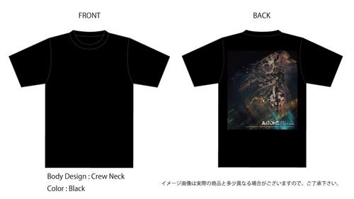 A.i.TONE / UNITE SATISFY オフィシャルTシャツ(BK)