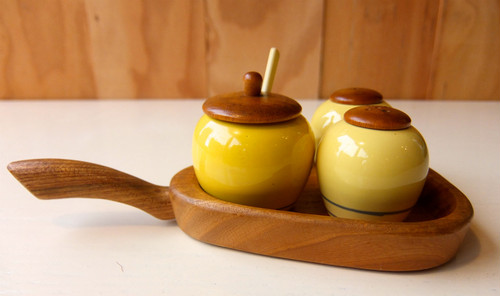 """Jie Keramik"" Table Spice Set"