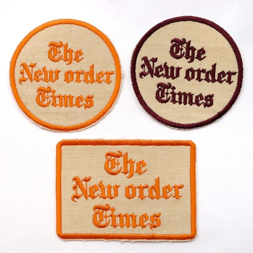 "Topboy ""The New Order Times patch"""