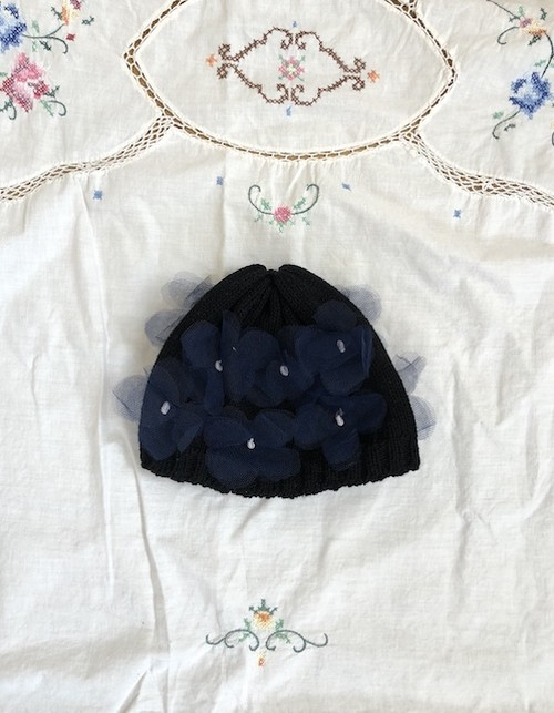 【sale】20%OFF  TULLE FLOWER CAP