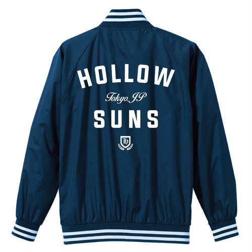 Nylon Stadium Jacket (Navy)